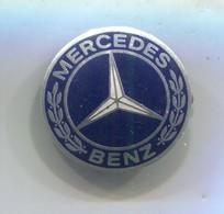 MERCEDES BENZ  -  Car, Auto, Automotive, Vintage Pin, Badge, Abzeichen - Mercedes