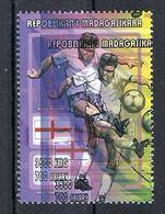 1998 Madagascar MNH - France FIFA World Cup Football Soccer - England Angleterre - Error Erreur - World Cup