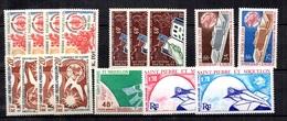 Saint-Pierre Et Miquelon Petite Collection Neufs ** MNH 1958/1974. Bonnes Valeurs. TB. A Saisir! - St.Pierre & Miquelon