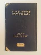 Judaica Israel Jewish Women Passport Reisepass 1955 Juif - Historical Documents