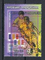 1998 Madagascar MNH - France FIFA World Cup Football Soccer - Romania Roumanie - Error Erreur - World Cup