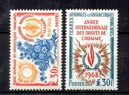 TAAF YT N° 26/27 Neufs ** MNH. TB. A Saisir! - French Southern And Antarctic Territories (TAAF)