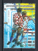 1998 Madagascar MNH - France FIFA World Cup Football Soccer - Croatia Croatie - Error Erreur - World Cup