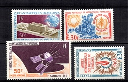 TAAF YT N° 26, N° 27, N° 33 Et PA N° 12 Neufs ** MNH. TB. A Saisir! - French Southern And Antarctic Territories (TAAF)