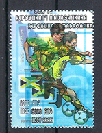 1998 Madagascar MNH - France FIFA World Cup Football Soccer - Jamaica Jamaique - Error Erreur - 1998 – France