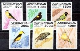 Serie De Azerbaijan N ºYvert 276/81 ** AVES (BIRDS) - Azerbaiján