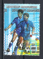 1998 Madagascar MNH - France FIFA World Cup Football Soccer - Japan Japon - Error Erreur - World Cup