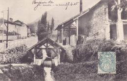 CPA 38 @ GONCELIN - La Scierie En 1905 - Altri Comuni