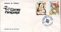 44499 Paraguay, Fdc 1994,  Ano Internacional De La Familia,  Family Year - Paraguay