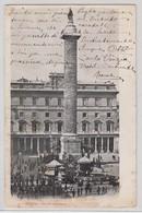 Roma Piazza Colonna 1913 - Places