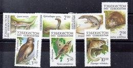 Serie De Uzbekistán N ºYvert 7/13 ** FAUNA (WILDLIFE) - Uzbekistán