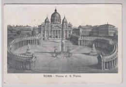 Roma Piazza Di S. Pietro 1907 - San Pietro