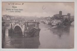 Roma Rovine Del Ponte Cestio E Isola Tiberina 1924 - Roma (Rome)