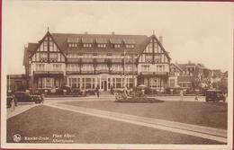 Knokke Knocke Zoute Place Albert Albertplaats Voiture Oldtimer ZELDZAAM (In Zeer Goede Staat) - Knokke
