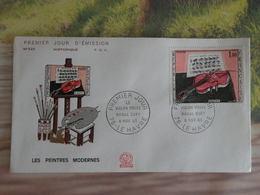 Raoul Dufy (Le Violon Rouge) - 67 Le Havre - 6.11.1965 FDC 1er Jour - Toutes Très Bon état Garantie - 1960-1969