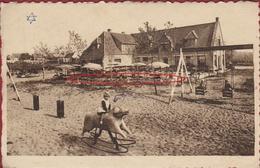 Knokke Knocke Zoute Place Oosthoek Au Labyrinthe ZELDZAAM (grote Horizontale Kreuk) - Knokke