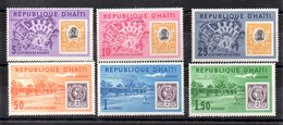 Series De Haiti N ºYvert 499/01 ** +Aéreo 263/65 ** - Haití