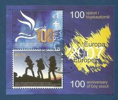 Kosovo  2007  Mi.Nr. Block 6 (68/69) , EUROPA CEPT - Pfadfinder / Skauting - Gestempelt / Used / (o) - Europa-CEPT