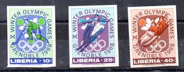 Serie De Liberia N ºYvert 451/53 ** Sin Dentar - Liberia