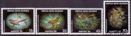 PAPUA NEW GUINEA 1986 SG #525-28 Compl.set Used Ameripex '86 - Papua New Guinea