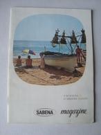 SABENA MAGAZINE. VACANCES D'ARRIÈRE-SAISON - BELGIUM, SEPTEMBRE 1961. - Vluchtmagazines