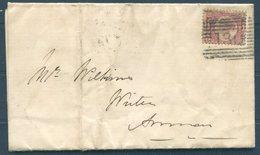 1875 GB Scotland Kirkpatrick Fleming Parish Parochial Board Poorhouse Meeting Entire - Annan Via Ecclebechan - Covers & Documents