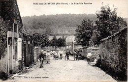 PREZ Sous LAFAUCHE - LA RUE De La FONTAINE - - Autres Communes
