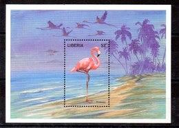 Hoja Bloque De Liberia N ºYvert 193 ** AVES (BIRDS) - Liberia