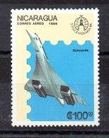 Sello Aéreo  De Nicaragua N ºYvert 1148 ** AVIONES (PLANE) - Nicaragua