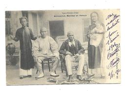 Vietnam   Annamites Malabar Et Chinois 1904 - Viêt-Nam