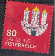Autriche 2018 Oblitéré Used Armoiries Salzburg Coat Of Armes Blason De Salzbourg SU - 1945-.... 2nd Republic