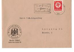 Beleg Brief DR Deutsches Reich - Staatsbibliothek Berlin - Unter Den Linden 28 - O 1936 !!! - Briefe U. Dokumente