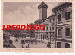 ASIAGO - PIAZZA STATUTO E MUNICIPIO  F/GRANDE VIAGGIATA 1941 ANIMAZIONE - Vicenza