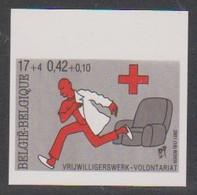 3022 - Rode Kruis - Croix-rouge  - Ongetand Met Nr - Non Dentelé Avec N° - Ocb = 15,00 Euro - Bélgica