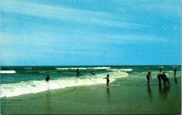 Maryland Greetings From Ocean City Beach Scene