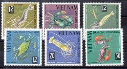 Serie De Vitnam Del Norte N ºYvert 442/47 ** Manchas Del Tiempo - Vietnam