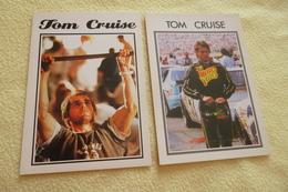 LOT DE 2 CARTES TOM CRUISE - Artiesten
