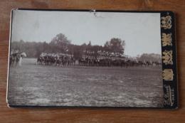 Photo Annexion Alsace Lorraine Regiment De Dragons Allemand à Metz Vers 1900 1914 - Guerra, Militares