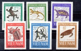 Serie De Vitnam Del Norte N ºYvert 488/93 ** (Nº 488 Punto De óxido) - Vietnam