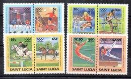 Serie De Santa Lucia N ºYvert 668/75 ** DEPORTES (SPORTS) - St.Lucia (1979-...)