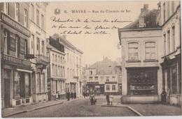 Wavre   Rue Du Chemin De Fer - Enseigne Fabrique De Sachet & Papier  Maison Charlier Niset - Wavre