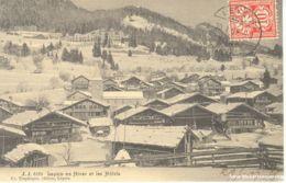 Leysin - En Hiver Et Les Hôtels + 1907 - VD Vaud
