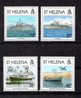 SAINT  HELENA    1992    10th  SAnniv  Of  Liberation  Of  Falkland  Islands    Set  Of  4    MNH - Saint Helena Island