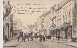 Wavre  La Rue Du Pont  Enseigne Droguerie Georges Foureau - Wavre