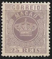 Macao Macau – 1885 Crown Type - Nuovi