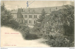 88 EPINAL. Ecole Normale Vers 1900 - Epinal