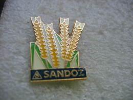 Pin's De La Firme Pharmaceutique Suisse SANDOZ - Pin's