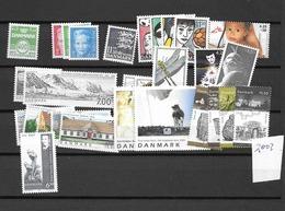 2003 MNH Denmark, Year Complete, Excluding Blocks, Postfris** - Danimarca