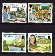 SAINT  HELENA    1992    Local  Anniversaries    Set  Of  4    MNH - Saint Helena Island