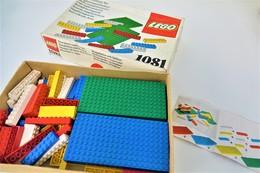 LEGO - 1081 Supplementary Box - Very Rare - Original Box - Original Lego 1976 - Vintage - Catalogues